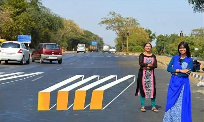 Road-Safety-assured-with-a-3D-Painted-Zebra-Crossing