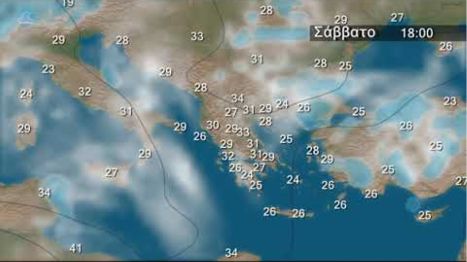 Weekly Weather Forecast for Greece Video from 13 June 2019